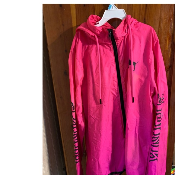 PINK Victoria's Secret Jackets & Blazers - Pink, PINK Windbreaker Jacket